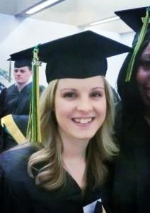 Amanda graduation picture