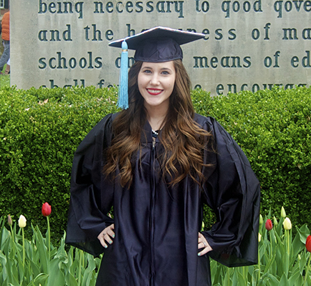 Megan Pyle A graduate of Ohio University Class of 2014